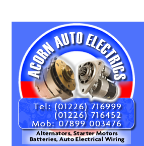 Acorn Auto Electrics - Alternators, Starter Motors, Batteries, Auto Electrical Wiring - Barnsley, South Yorkshire